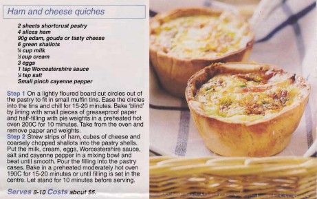 Ham & Cheese Quiches cropped