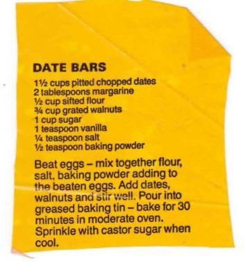 Date Bars crop