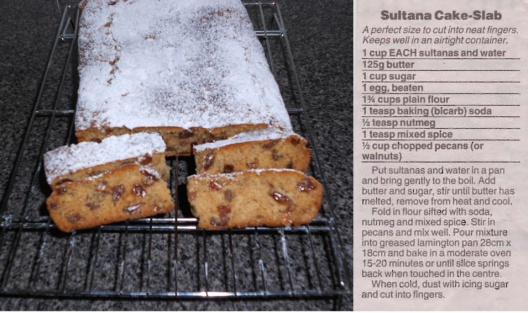 Sultana Cake-Slab