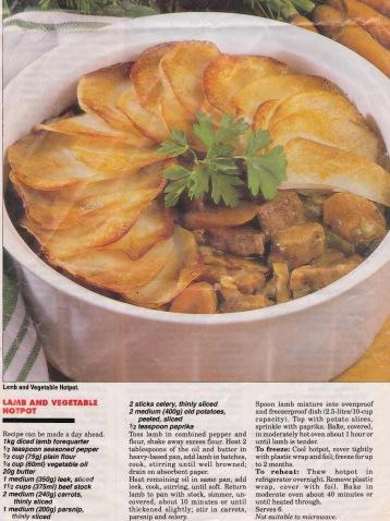 Lamb & Vegetable Hotpot