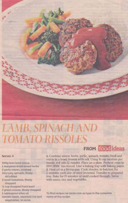 Lamb & Spinach Meatballs cropped