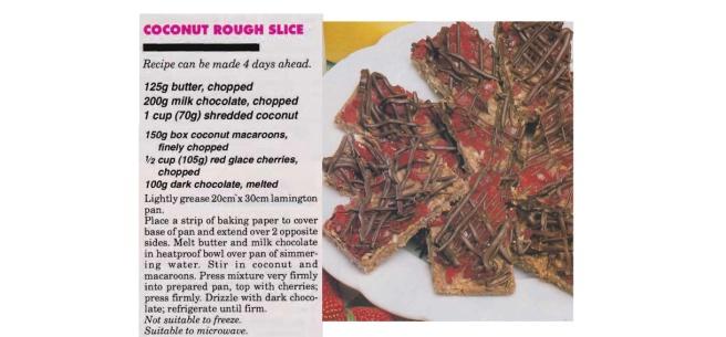 Coconut Rough Slice