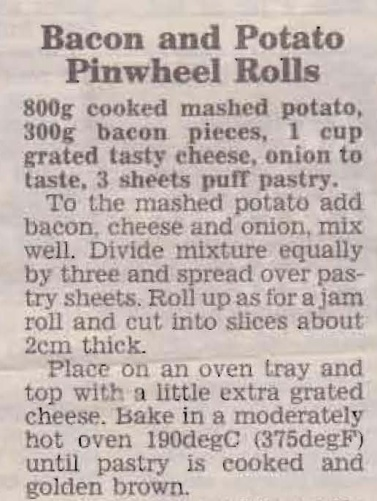 Bacon and Potato Pinwheel Rolls