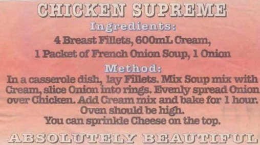 Chicken Supreme