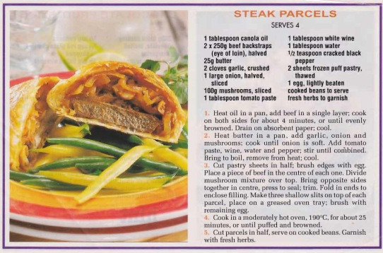 Steak Parcels