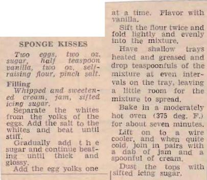 Sponge Kisses