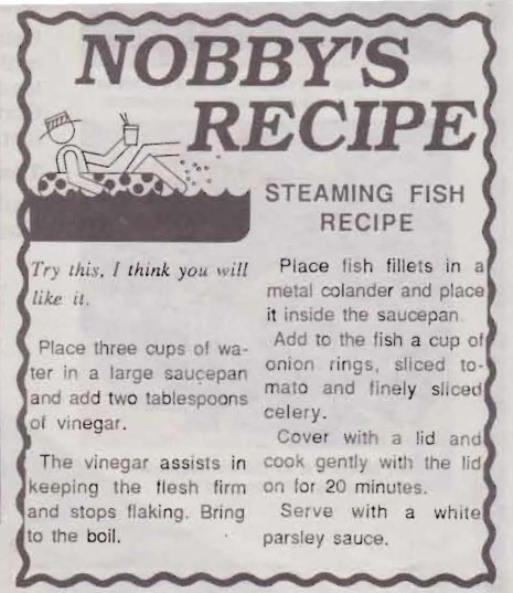 Nobby's Steamed Fish