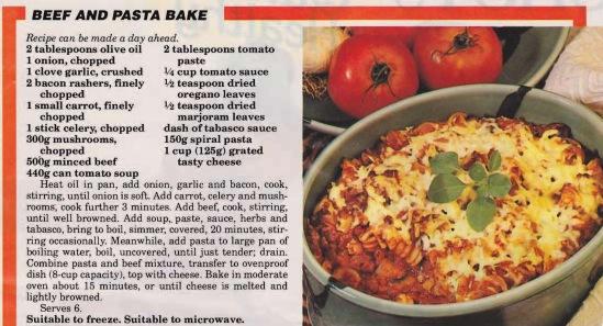 Beef & Pasta Bake