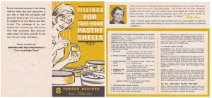 Betty King Pastry Shells Fillings