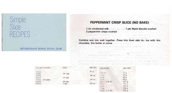 Simple Slice Recipes - Peppermint Crisp Slice Upload