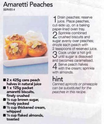 amaretti-peaches