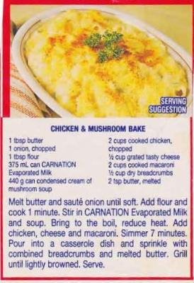 chicken-mushroom-bake